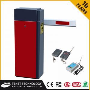 Buy cheap Ворота барьера стоянки прямой руки ТАБ-310 2-6М красные для паркуя системы управления доступом product