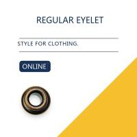 Buy cheap Custom Washer Flat Brass Eyelets Ring Type & Grommets Designs For Clothing product