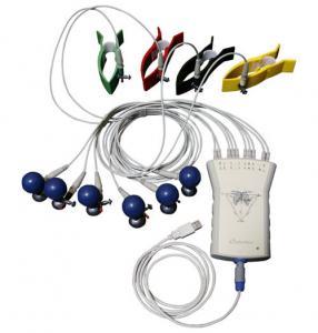 China Moniteur de repos d'électrocardiogramme d'enregistreur basé sur PC portatif de Digital ECG wholesale