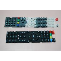 Quality Eco Friendly Conductive Silicone Rubber Keypad Waterproof With Remote Control for sale
