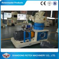 China CE ISO Approval  Vertical Ring Die Bamboo Powder Pellet Mill Production Line on sale