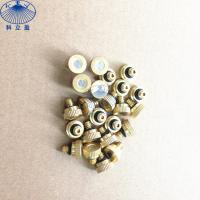 Buy cheap Copper low pressure water misting nozzle for mist cooling system product