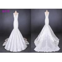 Buy cheap Straps satin mermaid wedding dresses bridal gowns customize made 2019 product