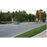 China High-qualiy Led Traffic Signs Speed Limit Sign Sheap For Further Traffic Calming on sale