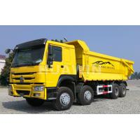 Buy cheap 420hp Sinotruk Howo 8x4 Dump Truck 25 CBM U Shape Dump Body For Mining from wholesalers