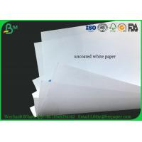 China 50g 53g 60g 70g 80g 90g Virgin Wood Uncoated Woodfree Paper White For Textbook on sale