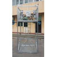 Buy cheap ZLP construction gondola winch , elevator installation cradle , ltd 63 suspended rope platform for sale , exporting product