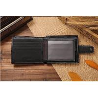 Buy cheap Customized Stylish Leather Wallet , Durable Short Leather Wallet product