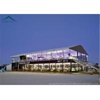 Double Deck Glass Wall Aluminum Canopies Outdoor Event Tents 10m * 20m
