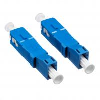 Buy cheap Hybrid Fiber Optic Connectors Low Insertion Loss With Blue Plastic Housing from wholesalers