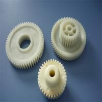 Buy cheap 100mm High Precision POM Gear Plastic Molded Parts , Injection Molding Services product