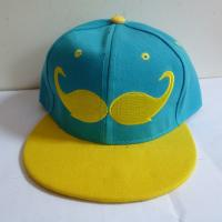 Buy cheap Custom Beard embroidery logo snapback cap hat,Korea hip hop hats with solid color,small order is accept product