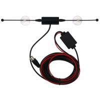 Buy cheap Digital Automotive Tv Antenna , Black Color Universal Fm Antenna For Car product