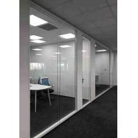 Buy cheap Concealed Edge Demountable Glass Partitions Easy Operation High Safety product