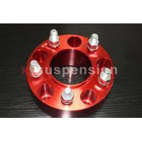 China Forged / Silver CNC Machining Universal Wheel Spacers Aluminum Double Drilled on sale