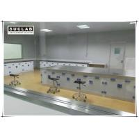 Buy cheap Floor Mounted Chemical Resistant Laboratory Tables With PP Handle product