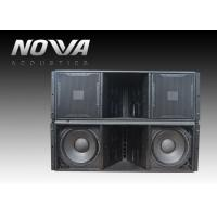 Buy cheap ActiveLine Array Sound System , Ground Stack Line Array Powered Speakers product
