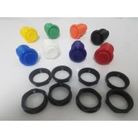 Buy cheap 28mm drilling hole Arcade concave Push Button with built in switch product
