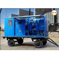 Buy cheap 110KV Transformer Insulation Oil Purifier With Double Stage Vacuum Pump System product
