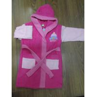 China soft cotton fabric hooded girl Bath Robes on sale