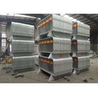 China Metal Crowd Control Barrier Road Barrier on sale