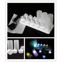 China Rechargeable LED tea light /12pcs/set rechargeable LED tealight candle on sale