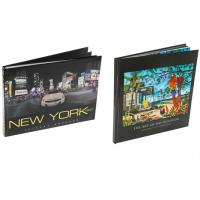 Fine Art Book Printing Services , Leather Bound Book Printing Square Back