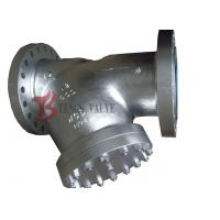 Buy cheap WCB Y Type Strainer Carbon Steel , A216 600LB Liquid Pipe Y Strainer Filter product