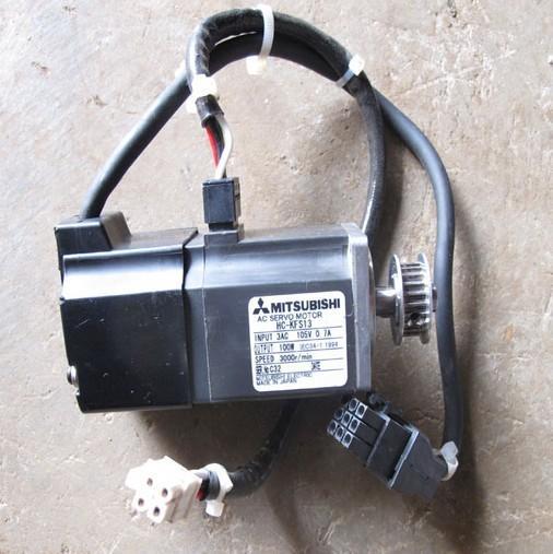 Mitsubishi servo motor hc kfs13 100w power supporting for Industrial servo motor tutorial