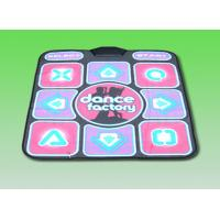 Single Player 2 In 1 USB Dance Pad , TV / PC 16 Bit TV Dancing Mat