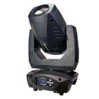 Buy cheap High Output 200W LED Beam Spot Wash 3in1 Frost Effect DMX 18 Channel Moving Head Zoom Stage Lighting product