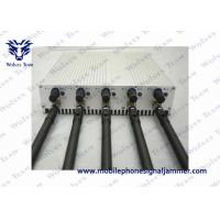 Buy cheap 3G 4G Cellphone Remote Control Jammer DC 5V 45 - 55Hz Power Supply from wholesalers