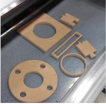 Cork gasket Making Production CNC Cutter Small Production Machine