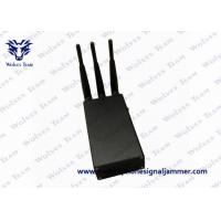 Buy cheap Cell Phone Handheld Signal Jammer 4W Movability Power CDMA GSM DCS 3G product