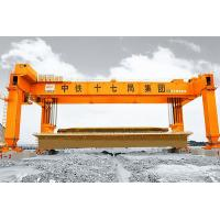 Buy cheap Rubber Tyred Rail Double Beam Gantry Crane For Railway Construction product
