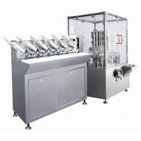 Buy cheap PLC Control Automatic Cartoning Machine High Speed For Bottle Packing product
