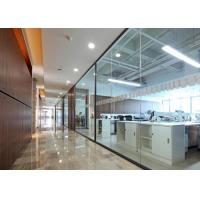 Buy cheap Office Demountable Glass Partitions , Glass Partition Walls Heavy Duty product