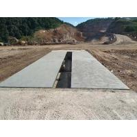 China Mining Truck Scale Weighbridge , 10 Ton Weighing Scale Pitless Type Weighbridge on sale
