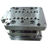 Buy cheap Progressive Die Metal Stamping Mold Galvanized Plate Buckle Parts Fabrication product