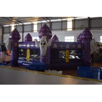 Buy cheap Fun Inflatable Sports Games / Interesting Halloween Round Inflatable Whac - A - Mole Games product
