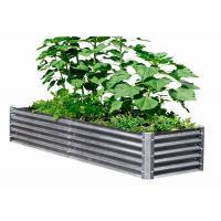 600x600MM Galvanized Raised Garden Beds 0.35 Zinc Plated Pipe Material