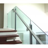 Buy cheap Widely useful cear tempered or laminated glass panel for balcony & fencing product