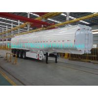 Quality 33 Cbm Heavy Duty Semi Trailers Oil Tank Trailer Stainless Steel 304 Material for sale