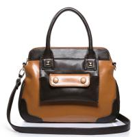 Buy cheap  PU leather fashionable two ways women's tote bag  product