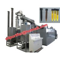Buy cheap Car Motor Oil Vacuum Distillation Machine With Black Waste Engine Oil Recycle System product
