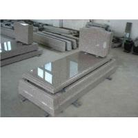 Buy cheap Brown Granite Memorial Headstones European Style Customized Size / Surface product