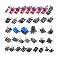 China Electronic Sensor Starter Kit for Arduino of 37 in 1 Sensors Flame Reed Temperature Laser Modules wholesale