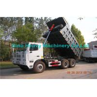 Buy cheap Sinotruk HOWO 6x4 Heavy Duty Dump Truck with Manual Transmission for sale product