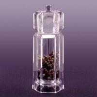 Buy cheap Acrylic Hexagon Combo Salt/Pepper Mill, Measures 6.0 x 5.0 x 16.0cm product