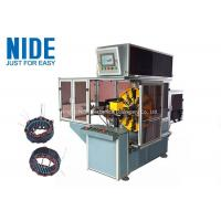 Buy cheap Automobile Motor Alternator Stator Coil Winding Machine Single Working Station product